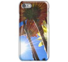 Sun Flare And Flowers iPhone Case/Skin