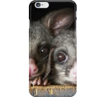 """Poppy & Ivy"" Brushtail Possums iPhone Case/Skin"