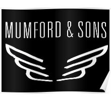 mumford and son logo Poster
