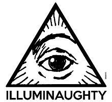 Illuminaughty - All Seing Eye Pyramid Photographic Print