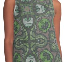 Stained Glass Green Contrast Tank