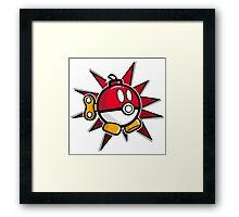 Bob-Ball Framed Print