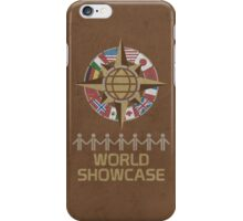 World Showcase iPhone Case/Skin