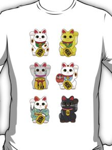 Lucky Cat / Maneki Neko T-Shirt