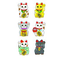 Lucky Cat / Maneki Neko Photographic Print