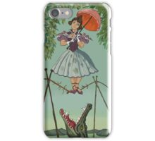 Haunted Mansion Tightrope Girl  iPhone Case/Skin