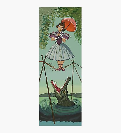 Haunted Mansion Tightrope Girl  Photographic Print