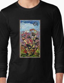Windows and flowers by Darryl Kravitz Long Sleeve T-Shirt