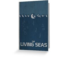 The Living Seas Greeting Card