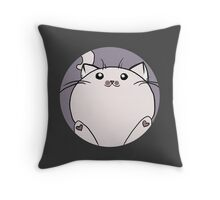 Pudge the Cat Throw Pillow