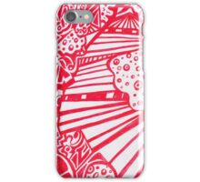 Red Steps iPhone Case/Skin