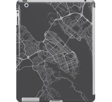 Halifax Map, Canada - Gray iPad Case/Skin