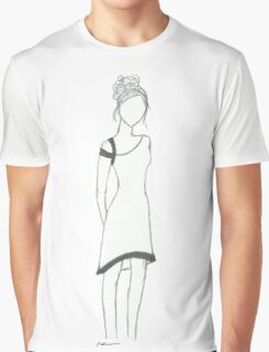 Faceless girl  Graphic T-Shirt
