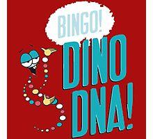 Dino DNA Photographic Print