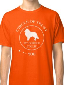 Funny Border Collie Dog Classic T-Shirt