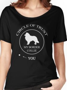Funny Border Collie Dog Women's Relaxed Fit T-Shirt