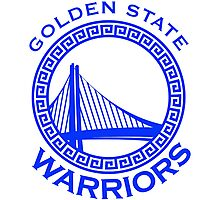 Golden state warrior Photographic Print