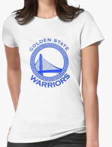 Golden state warrior Womens Fitted T-Shirt
