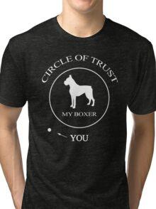 Funny Boxer Dog Tri-blend T-Shirt