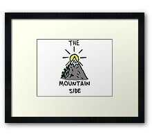 The Mountain Side Framed Print