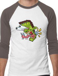 Monsta Mash Men's Baseball ¾ T-Shirt