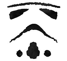 Rorschach Storm Trooper Photographic Print