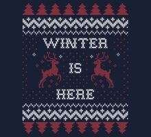 Winter is Here Kids Tee