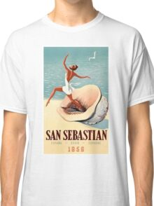 Vintage Spain Travel Poster Classic T-Shirt