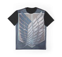 the survey corps AOT Graphic T-Shirt