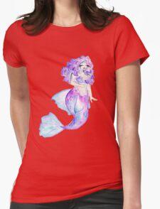 Curvy Mermaid - Betta  Womens Fitted T-Shirt