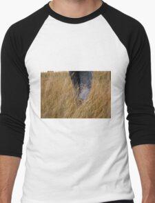Walking through the fields Men's Baseball ¾ T-Shirt
