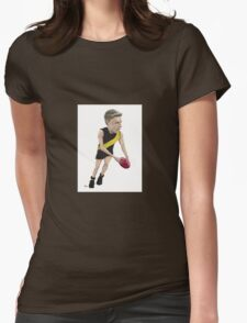 Taylor Hunt - Richomond Football Club caricature Womens Fitted T-Shirt