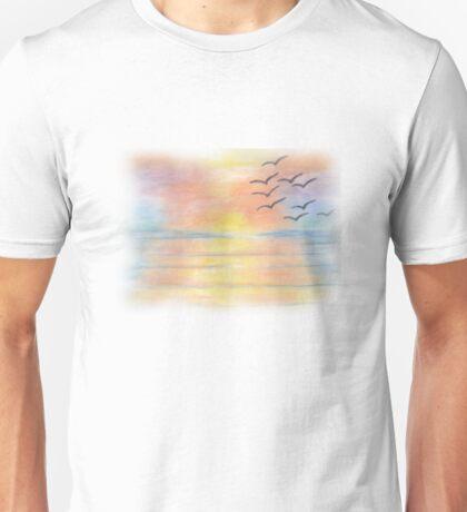 Rainbow Sunset Unisex T-Shirt