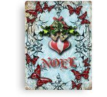 mistletoe n holly Canvas Print