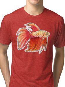 Fish 3 Tri-blend T-Shirt
