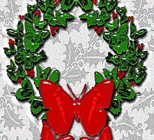Butterfly wreath by geot
