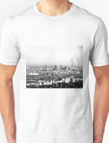 Black And White Cityscape 1  T-Shirt
