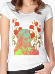 Jane Goodall Too Women's Fitted Scoop T-Shirt
