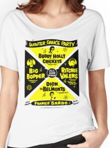 Buddy Holly's Winter Dance Party Women's Relaxed Fit T-Shirt