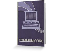 Communicore Greeting Card