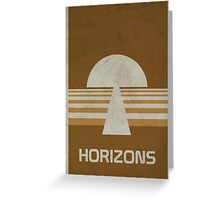 Horizons Greeting Card