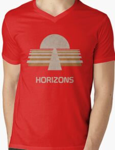 Horizons Mens V-Neck T-Shirt