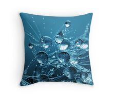 Crystal Drops Throw Pillow