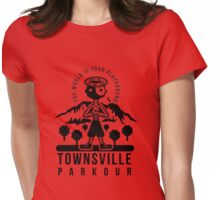 Townsville Parkour Clothing Womens Fitted T-Shirt