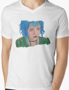 Scott Pilgrim - Ramona Flowers Mens V-Neck T-Shirt