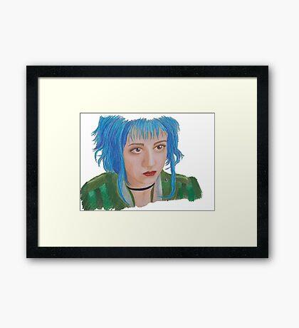 Scott Pilgrim - Ramona Flowers Framed Print