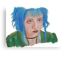 Scott Pilgrim - Ramona Flowers Canvas Print