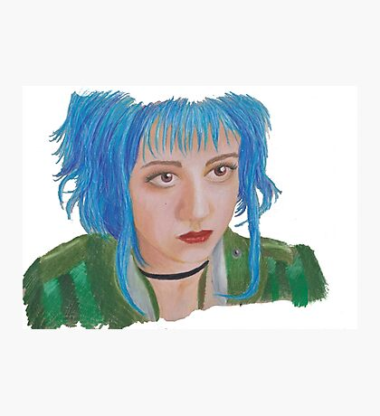 Scott Pilgrim - Ramona Flowers Photographic Print