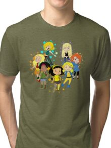 New Mutants Ladies Tri-blend T-Shirt