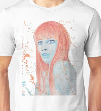 Quandry - Watercolor and Prismacolor Unisex T-Shirt